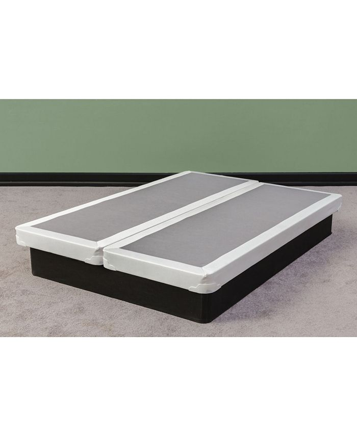 Payton - Fully Assembled Long Lasting 4-Inch Split Box Spring for Mattress, Full Size 74-inch x 53-inch
