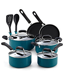 Cook N Home 12-Piece Nonstick Soft Handle Cookware Set