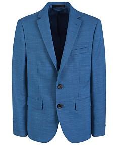 7e70840cb1ce Lauren Ralph Lauren Big Boys Classic-Fit Stretch Blue Suit Jacket