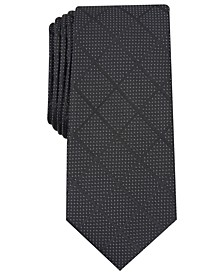 Men's Windowpane Tie, Created for Macy's