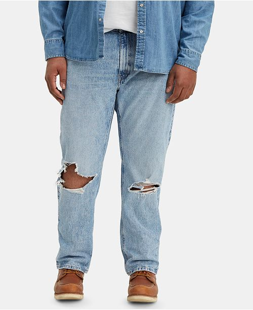 Levi's Men's Big and Tall 541 Athletic Fit Ripped Jeans