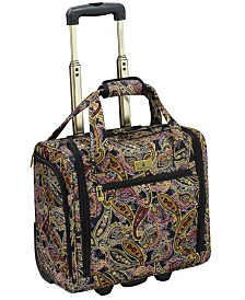 "London Fog Cranford 15"" Under-Seater Bag Luggage"
