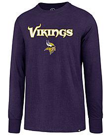 '47 Brand Men's Minnesota Vikings Pregame Super Rival Long Sleeve T-Shirt