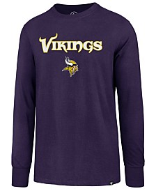 fe2f609b0e2  47 Brand Men s Minnesota Vikings Pregame Super Rival Long Sleeve T-Shirt ·