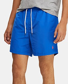 Polo Ralph Lauren Men's Big & Tall Traveler Swim Trunks