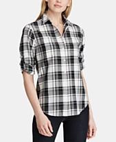 ff27f750bad Plaid Shirts For Women  Shop Plaid Shirts For Women - Macy s