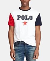 03a76abcb0af6 Polo Ralph Lauren Men s Classic Fit Graphic Americana T-Shirt
