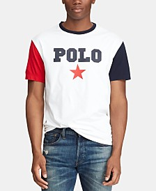 Polo Ralph Lauren Men's Classic Fit Graphic Americana T-Shirt, Created for Macy's