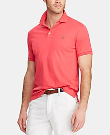 Men's Classic-Fit Soft Touch Polo Shirt, Regular and Big & Tall
