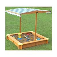 Merry Garden Sandbox with Canopy (Multiple Colors)