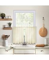 Elrene Cameron Kitchen Curtains