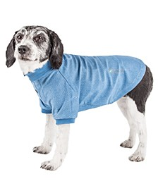Active 'Fur-Flexed' Relax Stretch Performance Dog Polo T-Shirt