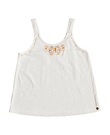 Girls Direction of Love Knit Tank Top