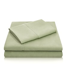Woven Microfiber California King Sheet Set