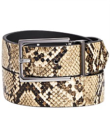 INC Men's Reversible Belt, Created for Macy's