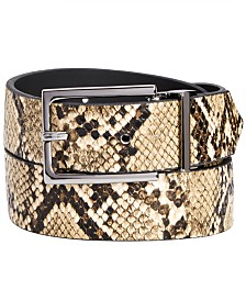 I.N.C. Men's Reversible Belt, Created for Macy's