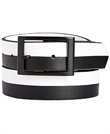 I.N.C. Men's Colorblocked Reversible Belt, Created for Macy's