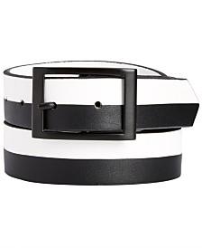 I.N.C. Men's Colorblocked Reversible Belt, Created for Macy's