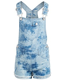 Toddler Girls Tie Dye Shortall