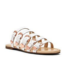Nikki Strappy Slide Sandals