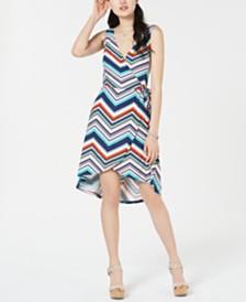 Planet Gold  Juniors' Cutaway High-Low Dress