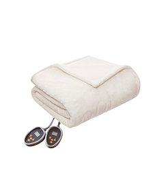 Woolrich Heated Plush to Berber Reversible King Blanket