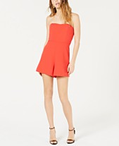 f58eb1d93e25 French Connection Whisper Removable-Strap Romper