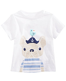 First Impressions Toddler Boys Captain Dog Graphic T-Shirt, Created for Macy's