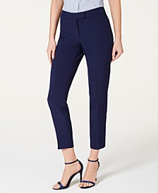 Slim-Ankle Career Dress Pants