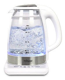 Tribest Double-Walled Electric Glass Raw Tea Kettle