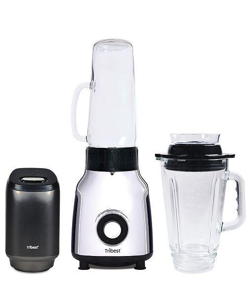 Tribest Glass Personal Vacuum Single Serving Blender