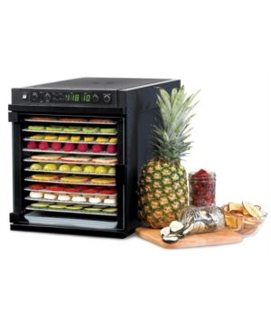 Tribest Sedona Express Dehydrator with 11 Stainless Steel Trays