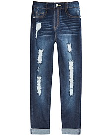 Epic Threads Big Girls Distressed Cotton Jeans, Created for Macy's