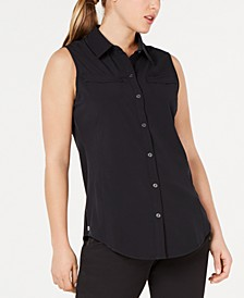 Mesh-Back Active Shirt