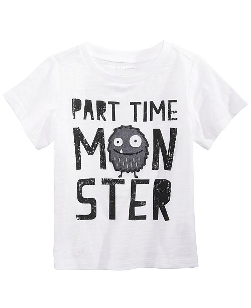 First Impressions Toddler Boys Monster Graphic T-Shirt, Created for Macy's