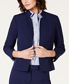 Anne Klein Stand-Collar Jacket