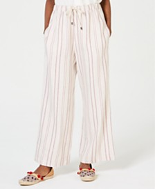 Weekend Max Mara Billy Striped Wide-Leg Pants