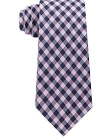 Men's Small Multi Gingham Tie