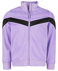 Little Girls Colorblocked Zip-Up Jacket, Created for Macy's