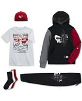 c0f178d9 Jordan Big Boys Remix Logo Cap, Futura Hoodie, Graphic-Print T-Shirt
