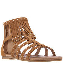 Nina Little & Big Girl's Cybil Fringe Sandal