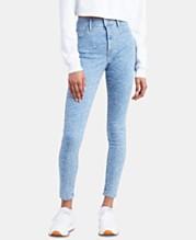 67630110e1b Levi's® 720 Zebra-Print High-Rise Super-Skinny Jeans