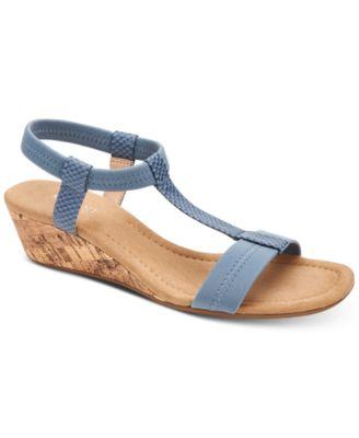 bf6ec6fd363 Image of Alfani Women s Step  N Flex Voyage Wedge Sandals