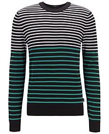 BOSS Men's Figaro Regular-Fit Cotton Sweater