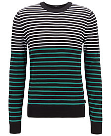 BOSS Men's Figaro Regular-Fit Cotton Sweater