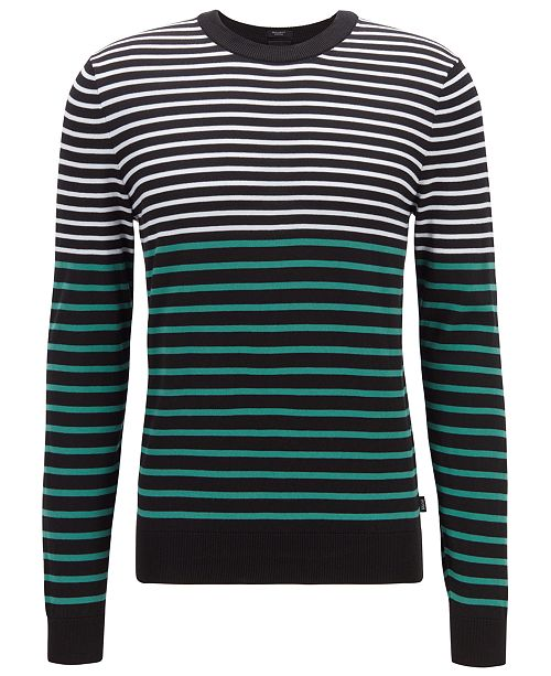 Hugo Boss BOSS Men's Figaro Regular-Fit Cotton Sweater