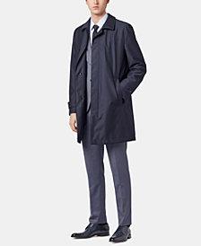 BOSS Men's Derrek Travel Line Virgin Wool Coat