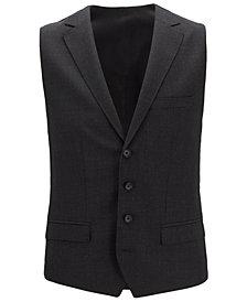 BOSS Men's Slim Fit Virgin Wool Waistcoat