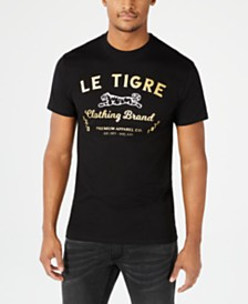 Le Tigre Logo Graphic T-Shirt