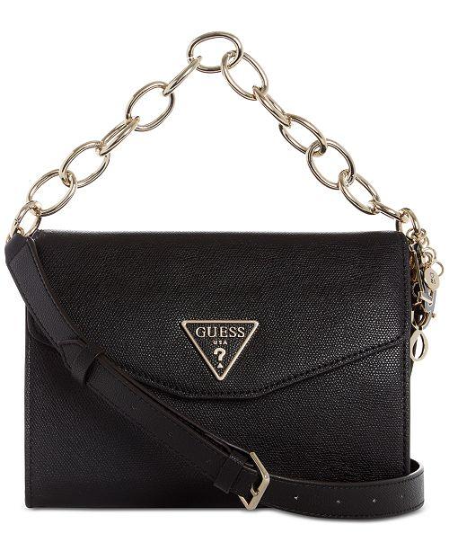 bac47ecaa GUESS Maddy Flap Crossbody & Reviews - Handbags & Accessories - Macy's